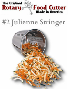 #2 Julienne-Stringer Cutting Cone - Cono Rallador No. 2