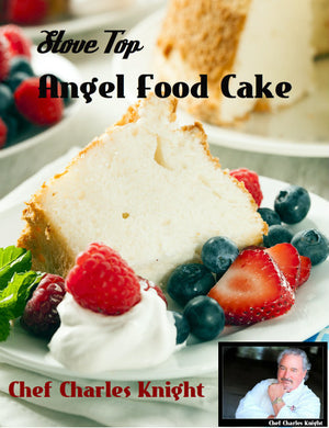 Angel Food Cake Prepared on an Induction Cooker or On top of the Stove