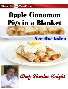 Apple Cinnamon Pigs in a Blanket