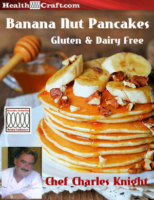Banana Nut Pancakes – Gluten and Dairy Free