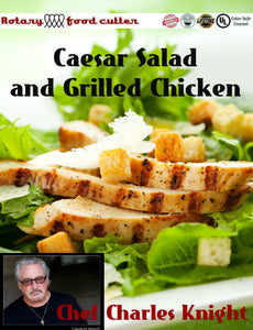 Caesar Salad and Grilled Chicken