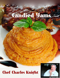 Candied Yams the Waterless Way  see video