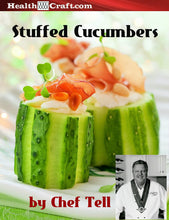Load image into Gallery viewer, Cream Chesse Stuffed Cucumbers – Chef Tell