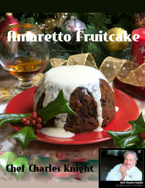Amaretto Fruitcake recipe & video
