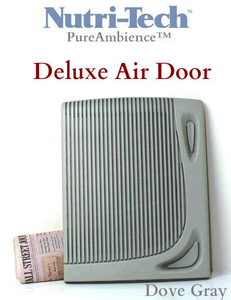 Dove Gray DOOR for PureAmbience and Nutri-Tech DELUXE Air Filter