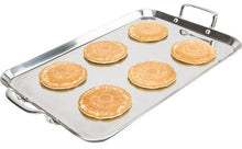 Load image into Gallery viewer, 19x12-inch JELLY ROLL PAN / Double Griddle - Heavy Duty will not warp in oven