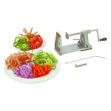 Load image into Gallery viewer, BEST BUY - Stainless Steel Vegetable SPIRAL SLICER - Curly Fries