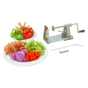 BEST BUY - Stainless Steel Vegetable SPIRAL SLICER - Curly Fries