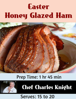 Easter Honey Glazed Ham