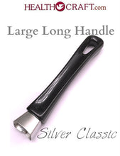 Load image into Gallery viewer, Black Silver Classic Large Long Handle fits 9½  11¼  13 inch Skillet - Snap-on No Screw