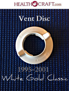CLOSEOUT SALE White Gold Classic Vent Disc