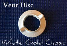 Load image into Gallery viewer, CLOSEOUT SALE White Gold Classic Vent Disc