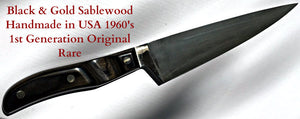 EKCO Arrowhead 1965 FRENCH CHEF KNIFE Handmade in the USA - Never Used