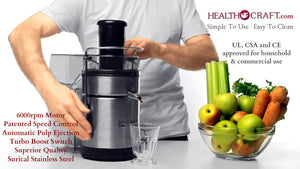 Juice Master Professional Juicers - See Video