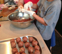 Load image into Gallery viewer, Barbeque Turkey Meatballs see video