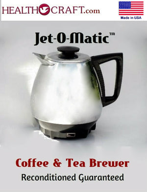 CLOSEOUT 2 LEFT Vintage Jet-O-Matic™ Coffee-Tea Brewer - Reconditioned Guaranteed