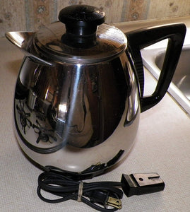ELECTRIC CORD for SLOW COOKER BASE and JET-O-MATIC Coffee Maker 110v