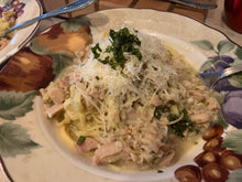 Load image into Gallery viewer, Linguini with White Clam Sauce by Chef Charles Knight