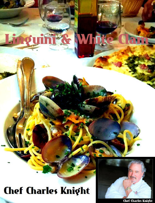 Linguini with White Clam