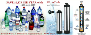 Ultra-Tech Stainless Steel Whole House Water Filtration System and Softener