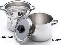 Neova Pro CLOSEOUT SALE 3 PC PASTA SET 5PLY 304 Surgical Stainless Steel Made in USA