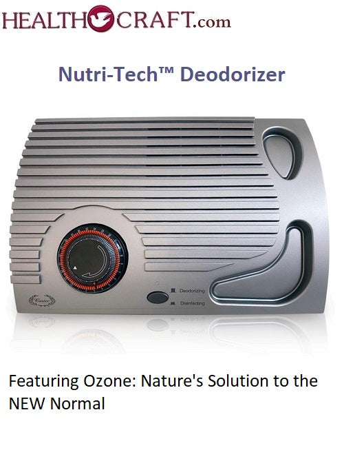 Nutri-Tech™ Deodorizer - Featuring Ozone: Nature's Solution To The NEW Normal