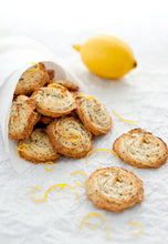 Load image into Gallery viewer, Pan Baked Poppy Seed Icebox Cookies