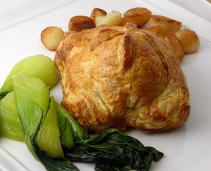 Sausage and Mushroom Wellington