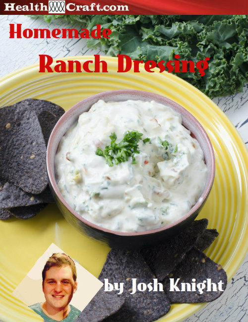 Homemade RANCH DRESSING by Josh Knight