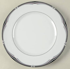"12 SALAD PLATES 8¼"" – St. Tropez by Carico – taken in on trade NEW in the box"