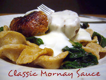 Load image into Gallery viewer, Classic Mornay Sauce (Cheese Sauce)
