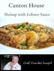 Canton House Shrimp with Lobster Sauce video