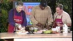Sloppy Jones cooking with Deacon Jones