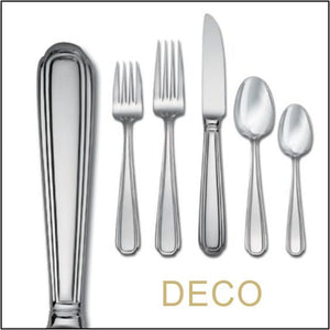 Deco Surgical Stainless Steel Tableware