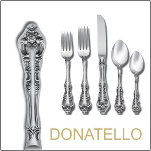 Donatello Surgical Stainless Steel Tableware