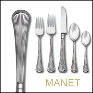 Manet Surgical Stainless Steel Tableware