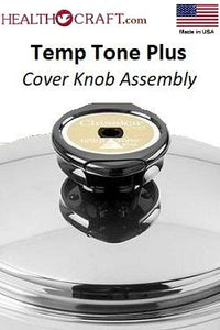 TEMP TONE Steam Control Vent Knob for Regalware Brand waterless cookware parts.