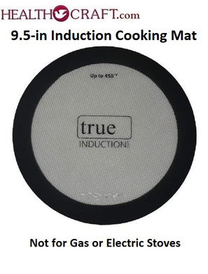 9.5-inch INDUCTION COOKING MAT non-slip Silicone Rubber for Induction Cooktops
