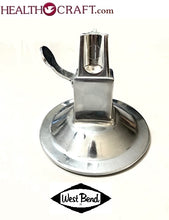 Load image into Gallery viewer, West Bend Lifetime Kitchen Cutter ROUND SUCTION BASE ONLY. Used.