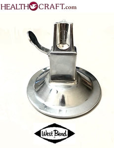 West Bend Lifetime Kitchen Cutter ROUND SUCTION BASE ONLY. Used.