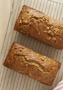 GOING NUTS OVER SWEET POTATO BANANA BREAD by Chef Charles Knight