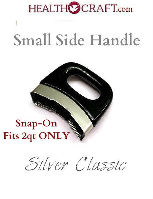 Black Silver Classic SMALL Side Handle fits 2qt only – Snap-on No Screw