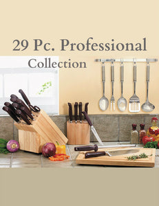 29 Pc. Forged Professional Cutlery Collection