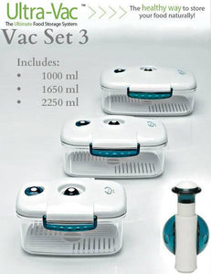Ultra Vac Food Storage Systems