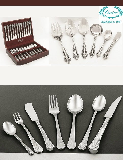 Designer Surgical Stainless Steel Tableware from Carico