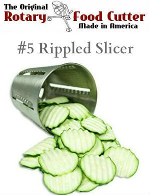 #5 Rippled Slicing Cone - Cono Rallador No. 5