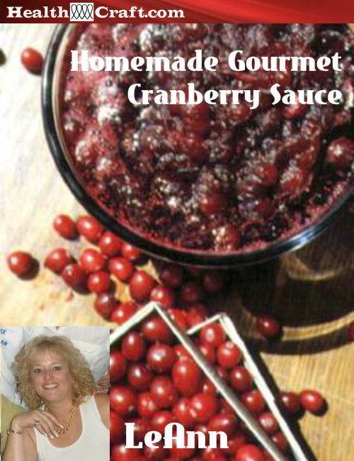 LeAnn's Homemade Cranberry Sauce