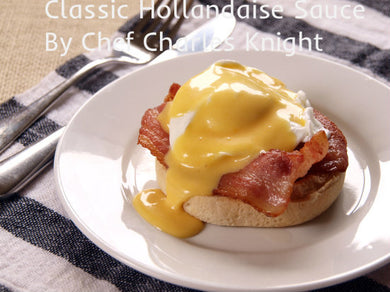 Classic Hollandaise Sauce   see video