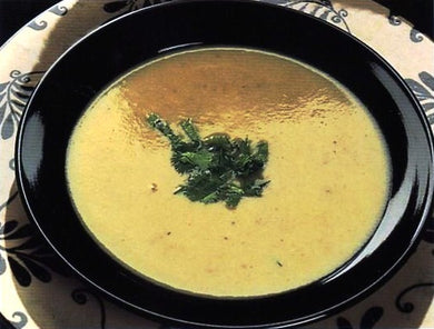 Chickpea Soup with Cumin and Cilantro