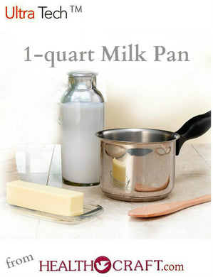 Ultra-Tech Open Milk Pan